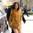 Kylie Jenner figure dans le  Vogue  américain de septembre.