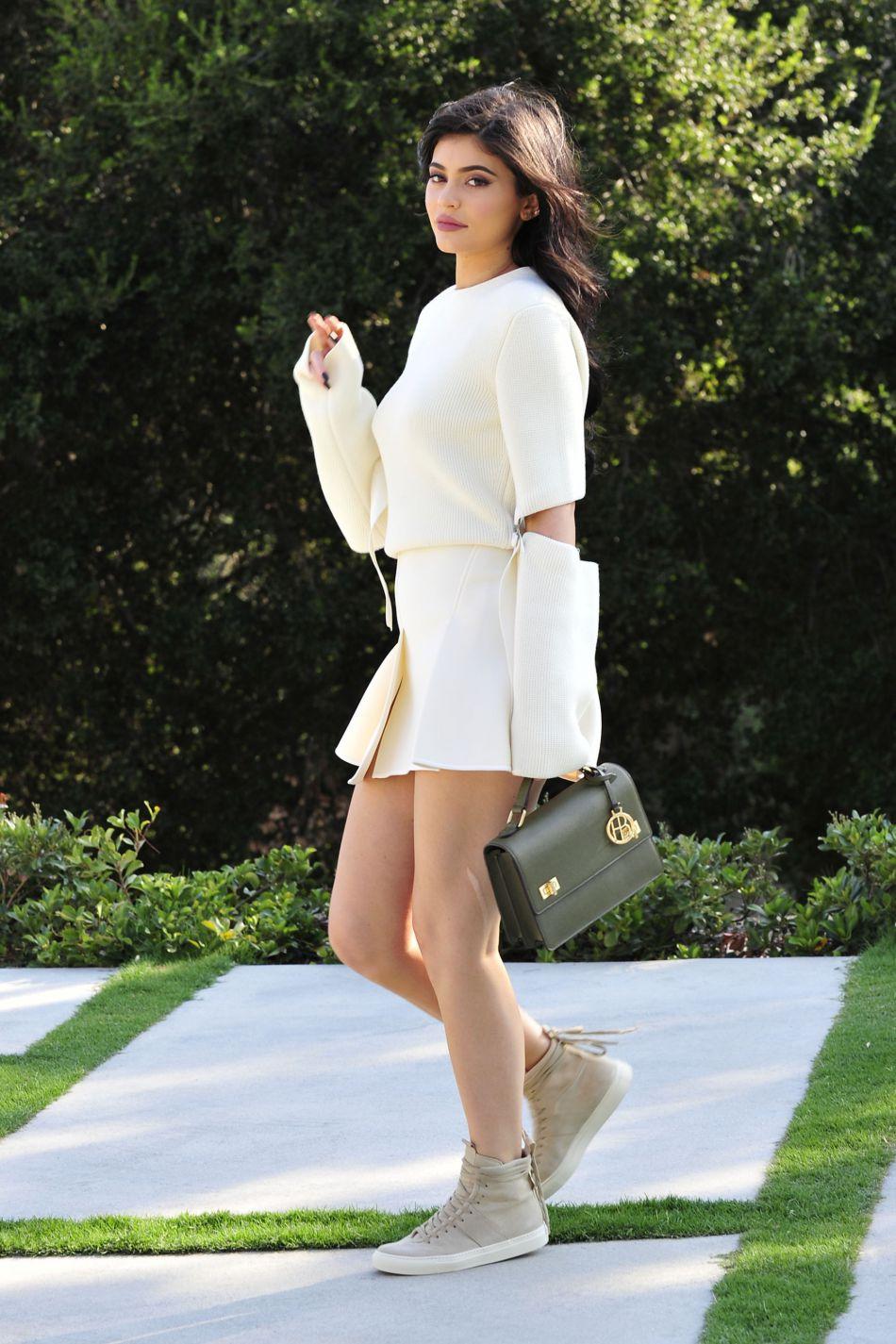 """Kylie Jenner a été choisi comme l'un des """"nouveaux visages de la saison"""" par le magazine."""