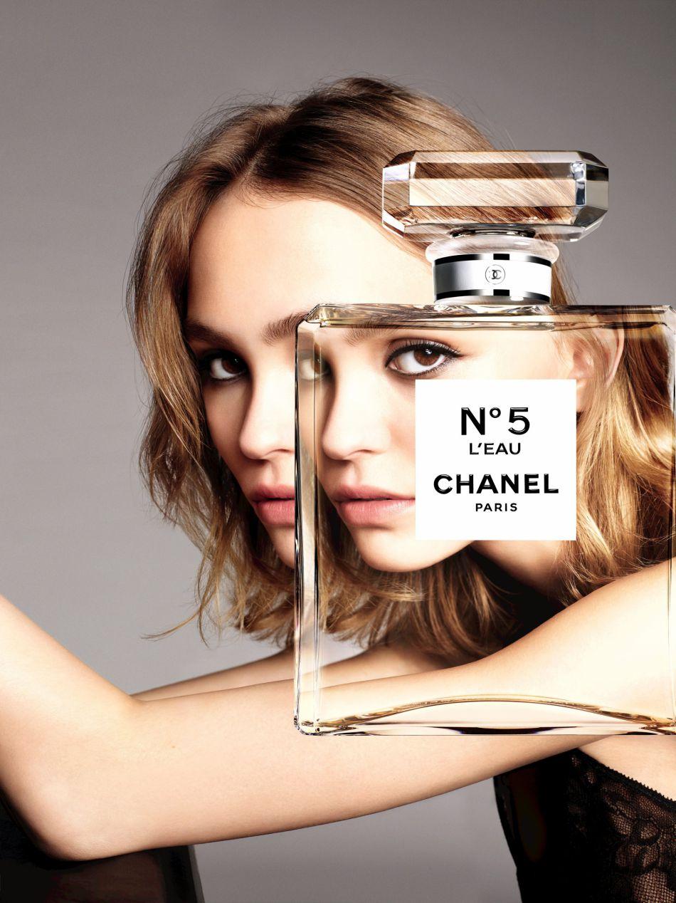 Lily-Rose Depp est l'image de cette nouvelle fragrance Chanel.