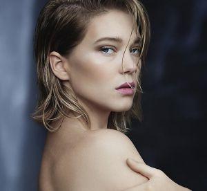 Léa Seydoux, premier visage des nouveaux parfums Louis Vuitton