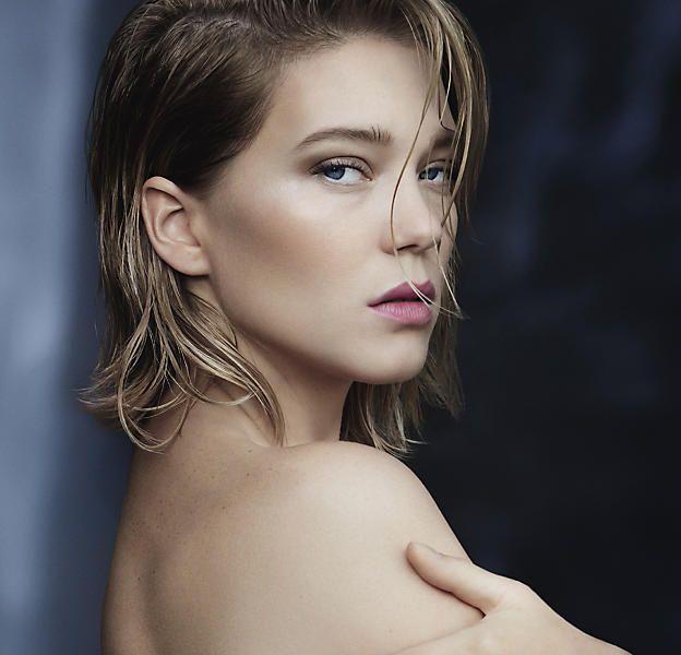 Léa Sedyoux est la première ambassadrice des parfums Louis Vuitton.