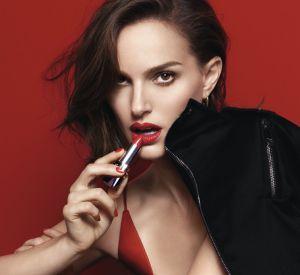 Natalie Portman pour le rouge Dior.