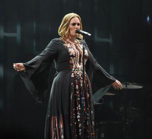Adele a dû annuler un concert en raison d'un rhume.