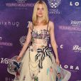 Elle Fanning a fait sensation lors de la soirée Variety : power of Young Hollywood en robe transparente Marc Jacobs.