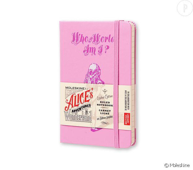 Agenda Alice aux pays des Merveilles, Moleskine, prix non communiqué.