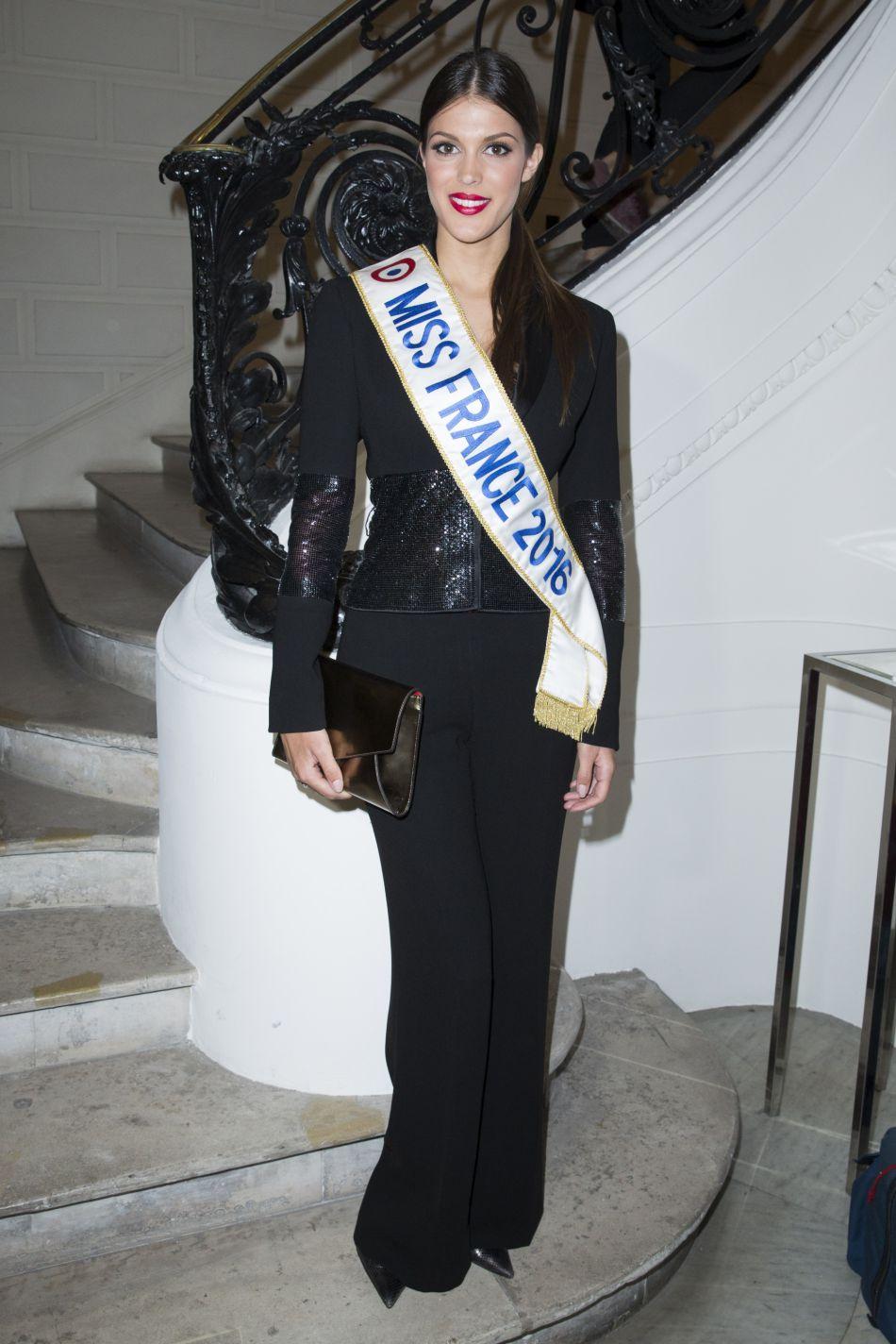 Originaire de Lille, Iris Mittenaere a été élue Miss France 2016 en décembre dernier.
