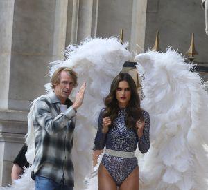 Les Anges de Victoria's Secret tournaient le film promotionnel des futures fêtes de fin d'année sous la direction de Michael Bay.