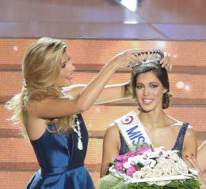 Fin 2015, c'est à une autre Miss Nord-Pas-de-Calais, Iris Mittenaere, qu'elle a remis la couronne !