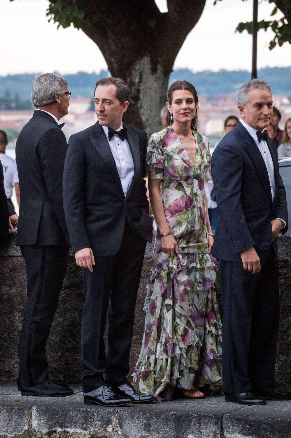 Gad Elmaleh était en couple avec la sublime Charlotte Casiraghi jusqu'à l'automne 2015.