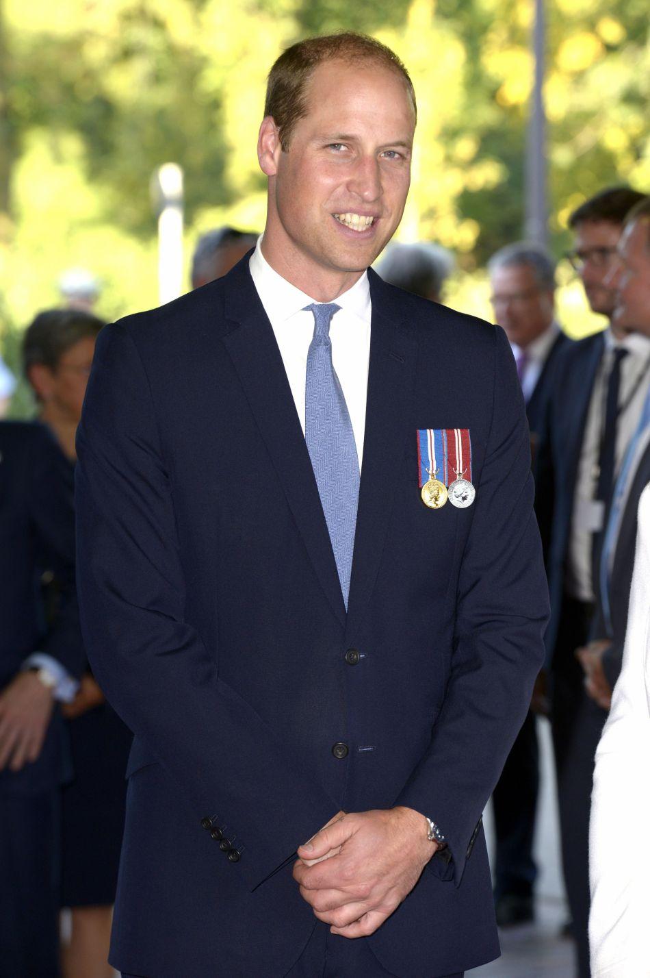 Le prince William est apparu bronzé à Düsseldorf.