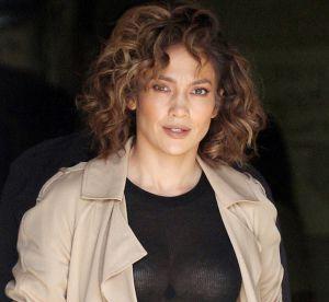 Jennifer Lopez : poitrine en vue sur le tournage de sa série