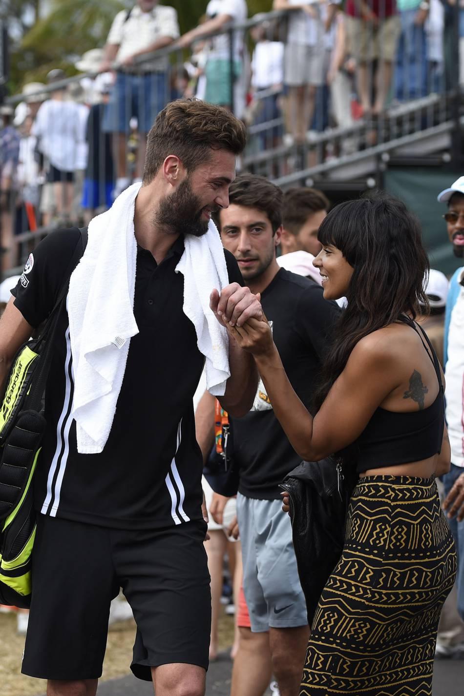 Le couple Shy'm et Benoît Paire s'est éloigné de la pression médiatique qui règne autour d'eux pour prendre des vacances à New York.