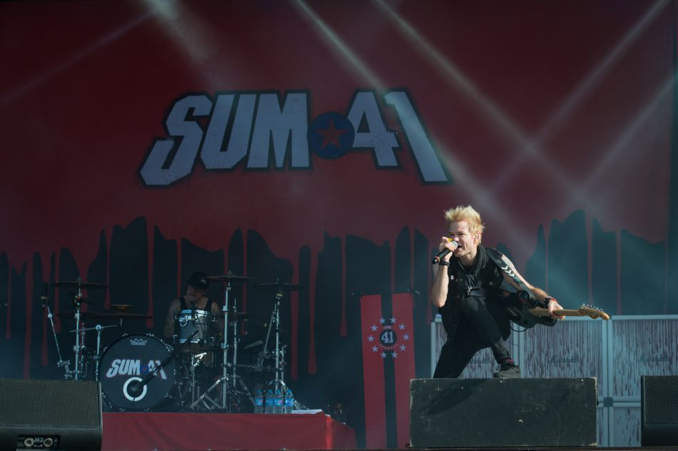Come-back grandiose de Sum 41 à Rock en Seine 2016.