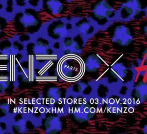 Kenzo x H&M, la vidéo backstage du shooting.