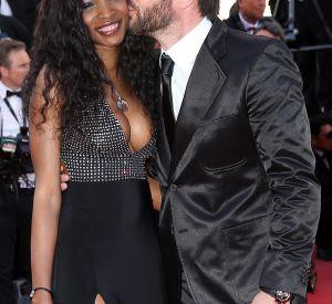 Samuel Le Bihan et Daniela à Cannes, un couple très glamour en mai 2015.