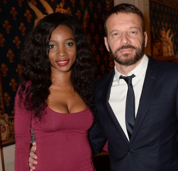 Samuel Le Bihan et Daniela lors d'un gala de charité organisé par Maud Fontenoy en 2015.