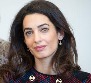 Amal Clooney habillée par Sonia Rykiel.