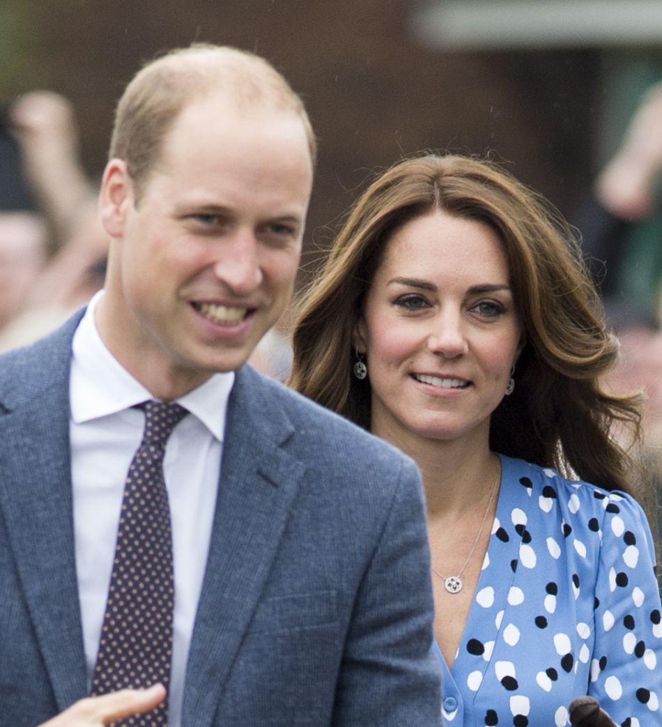 Kate Middleton et le prince William étaient de visite dans une école pour parler de l'importance du bien-être psychologique des enfants à l'école.