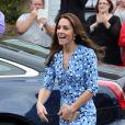 Kate Middleton a opté pour une petite robe très estivale signée Altuzarra.