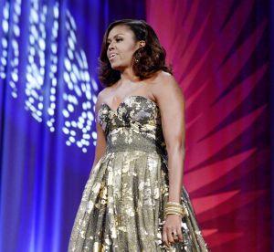 Michelle Obama : coup d'éclat en robe brillante pour la First lady sur le départ