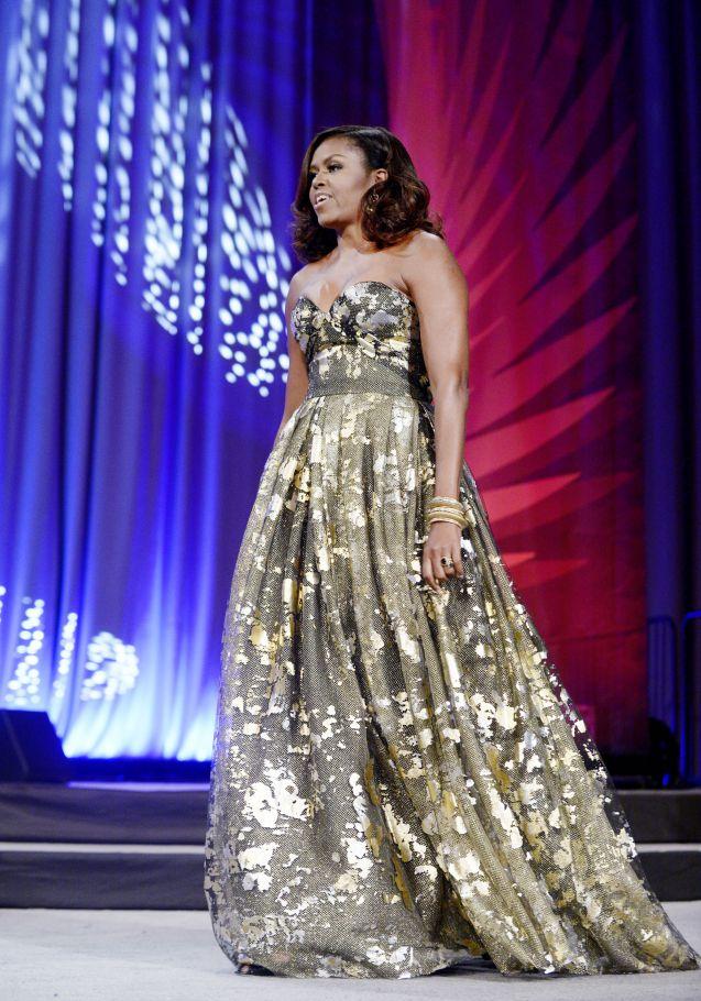 Michelle Obama : une icône mode qui n'a jamais peur d'en faire trop.