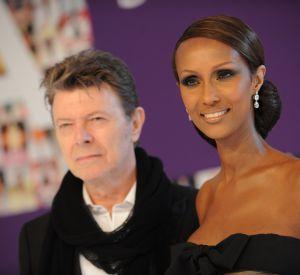 Iman et David Bowie, couple mythique.