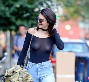 "Kendall Jenner : ""J'adore montrer mes tétons"""