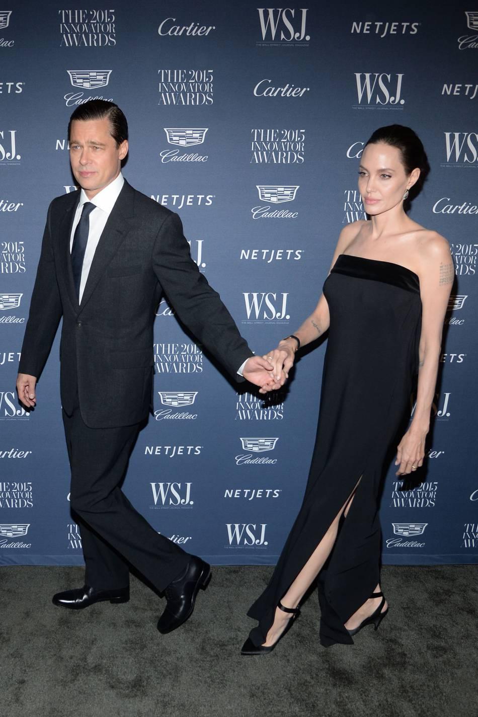 Le divorce de Brad Pitt et d'Angelina Jolie fait les gros titres de la presse people.