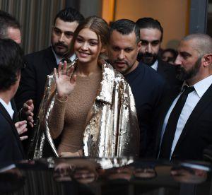 Gigi Hadid : sa tenue étrange mais complètement sexy à Milan