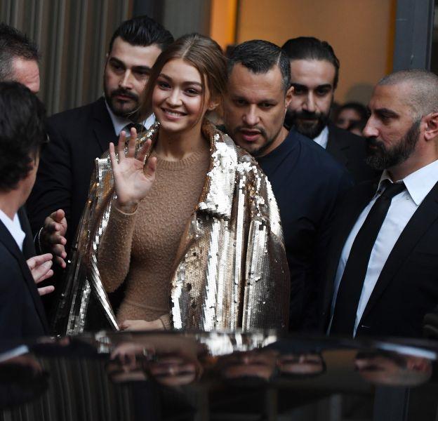 Gigi Hadid a fait sensation à Milan.