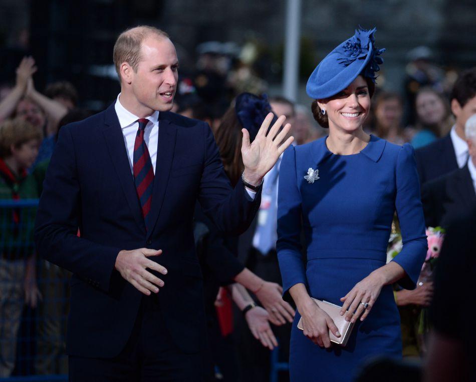 Kate et William resteront au Canada pendant une semaine.