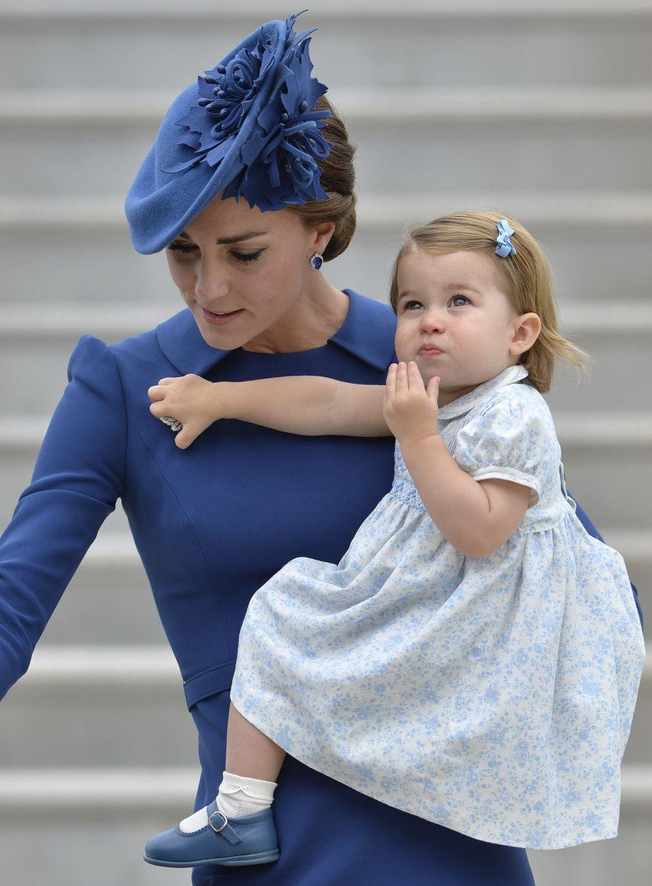 Et le tout premier pour la jeune Charlotte de Cambridge !