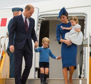 Kate Middleton : la famille royale est bien arrivée au Canada !