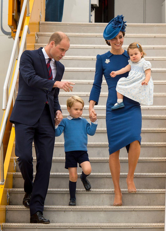 Il s'agit du deuxième voyage officiel au Canada du couple princier.
