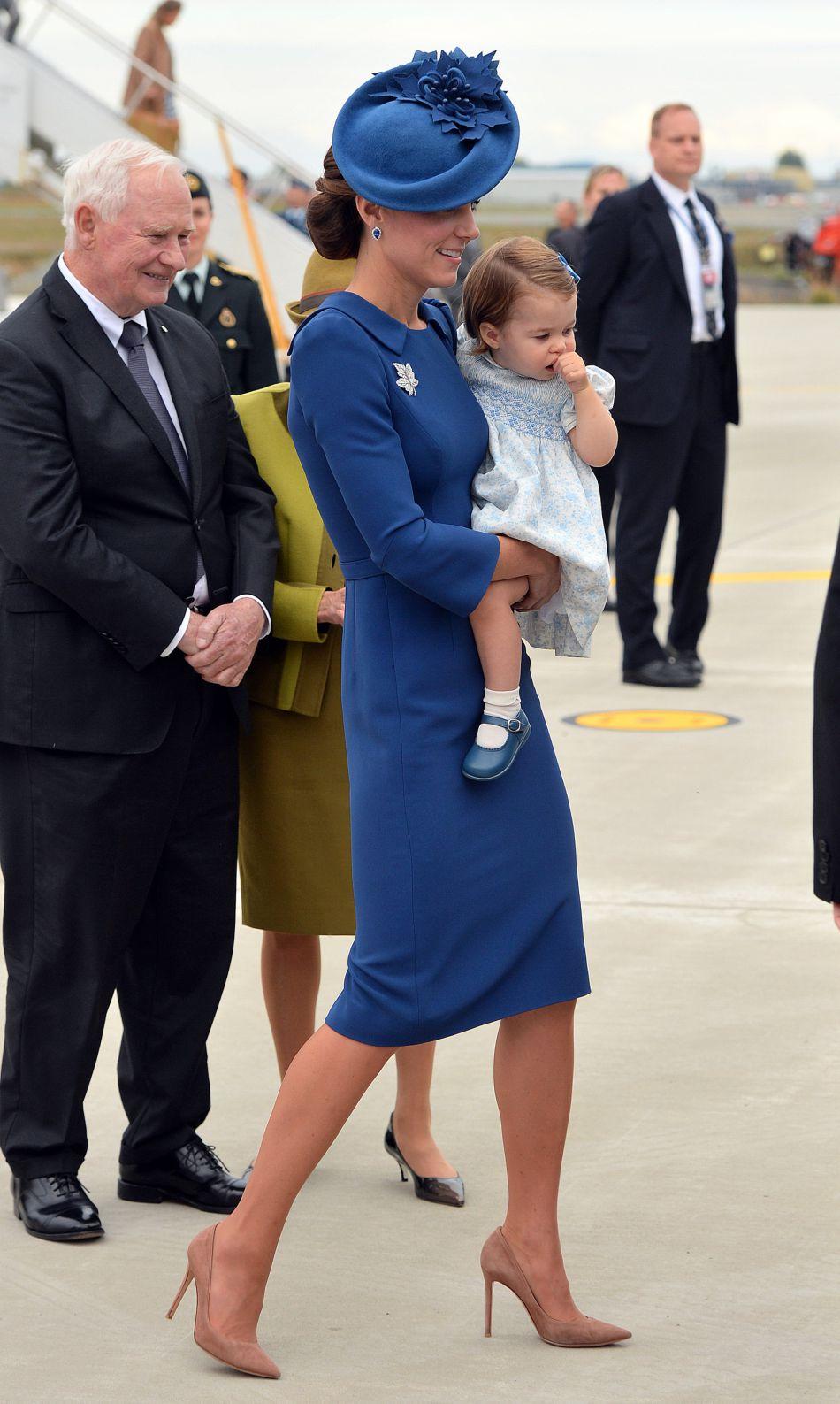 Comme à son habitude, Kate Middleton a révélé une tenue impeccable et sophistiquée.