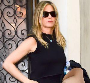 Jennifer Aniston : jean et lunettes noires pour l'ex la plus connue du pays