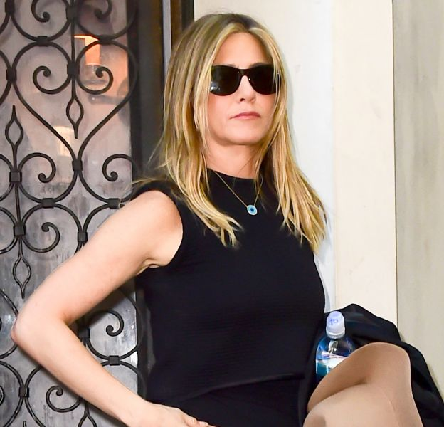 Jennifer Aniston a fait une apparition hier à New York.