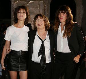 Jane Birkin, Charlotte Gainsbourg, Lou Doillon : trio d'icônes en front rows !