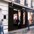 La première boutique L'Oreal Paris ouvre au 62 rue de Caumartin à Paris.
