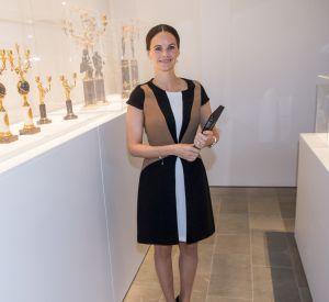 Sofia de Suède, radieuse et sans chichis dans une robe Zara.