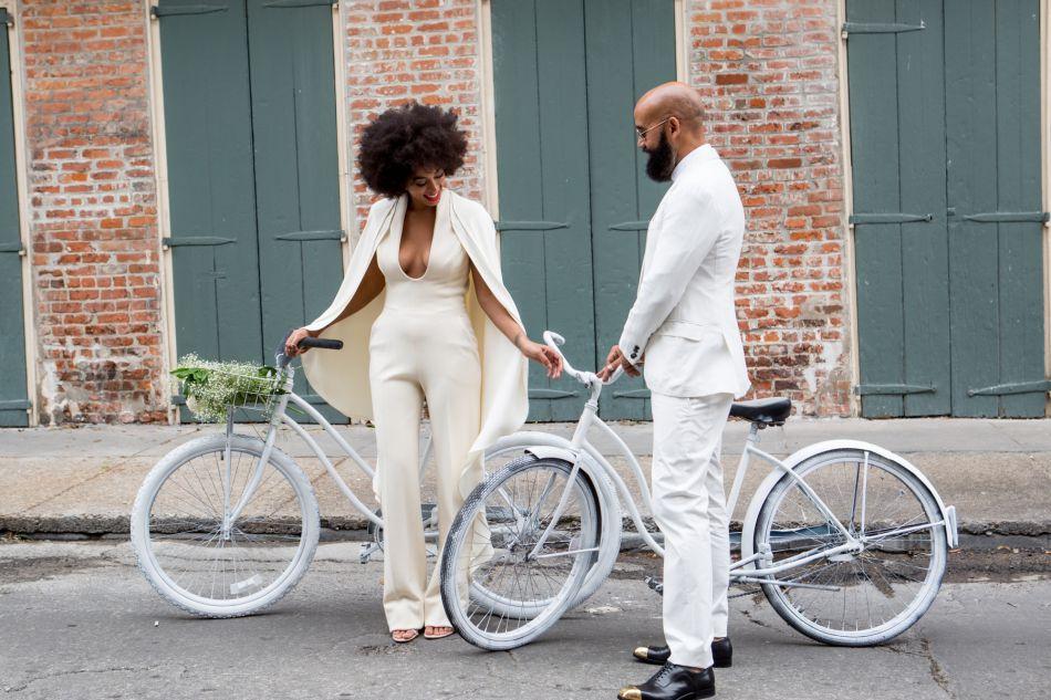 Solange Knowles et son Instagram influent Saintrecords a fait le buzz avec son mariage parfait.
