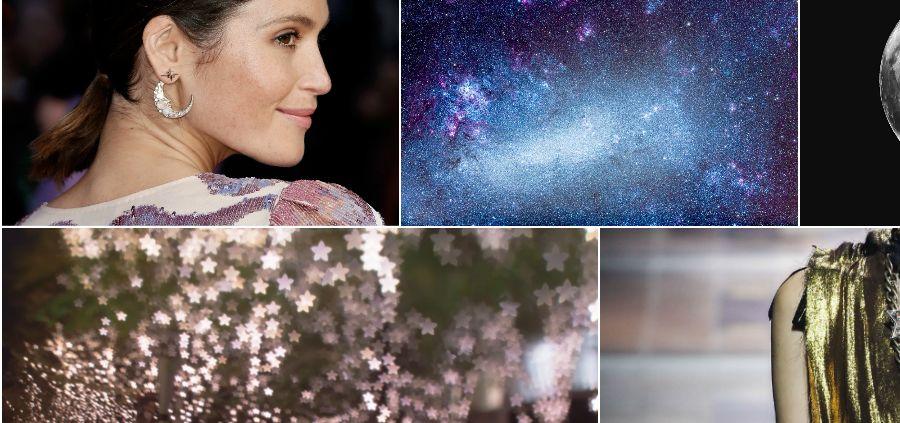 Lune et étoiles, précieuses galaxies