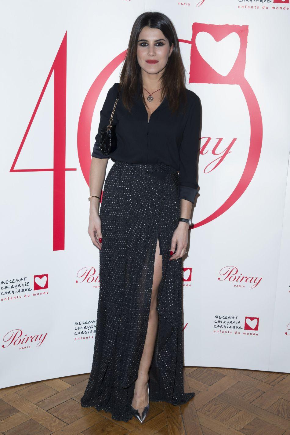 La jolie animatrice de télévision fait partie des célébrités de la septième saison de l'émission de TF1.