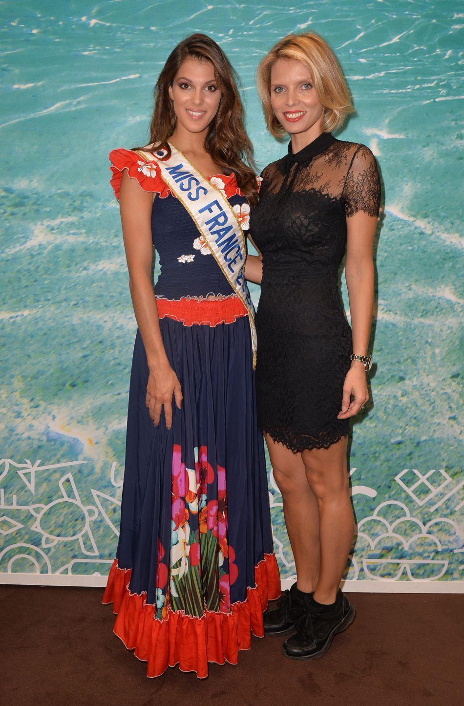 Iris Mittenaere et Sylvie Tellier préparent actuellement les trente candidates à La Réunion.