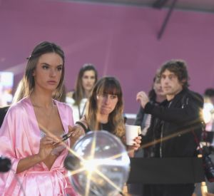 Les backstages du défilé Victoria's Secret.