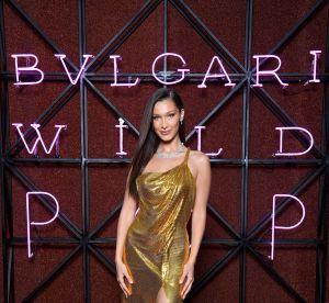 Bella Hadid, on n'a d'yeux que pour sa robe dorée !