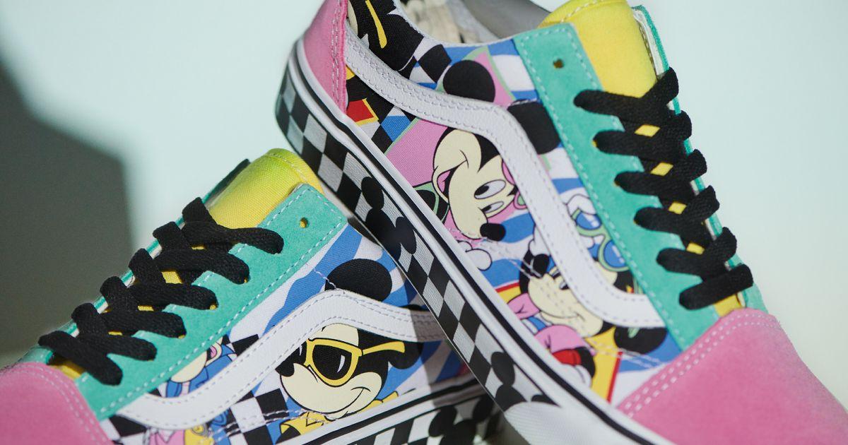 Sneakers Vans x Disney : c'est simple, il nous les faut