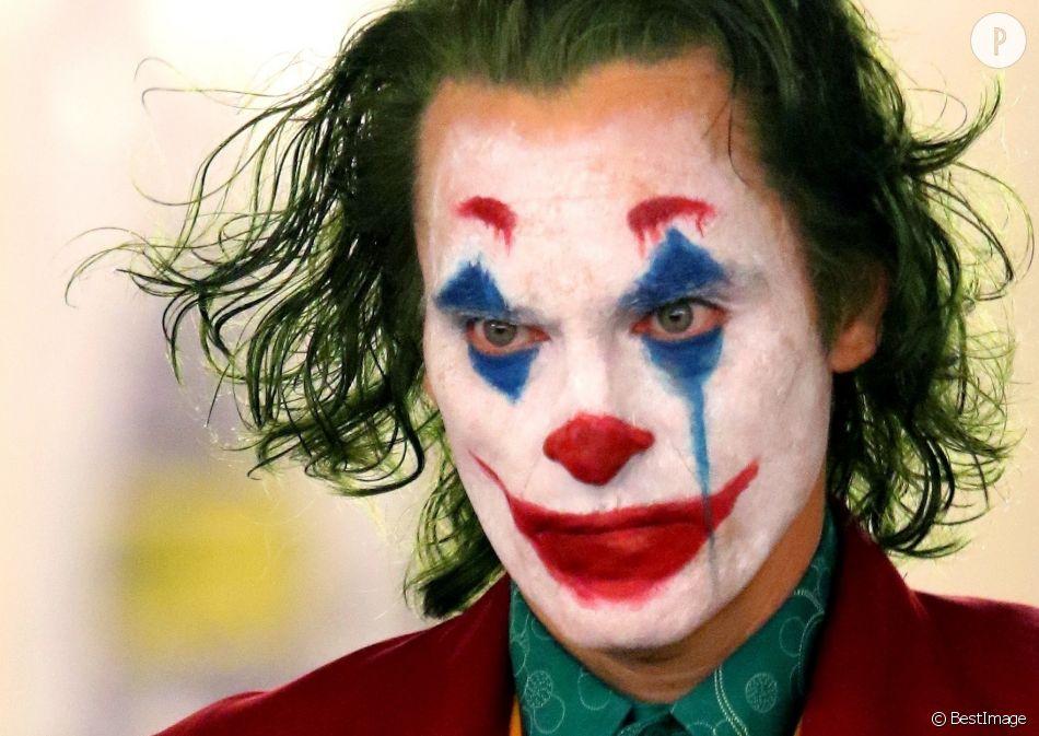 Un nouveau Joker au cinéma  le clown, maquillage horrifique