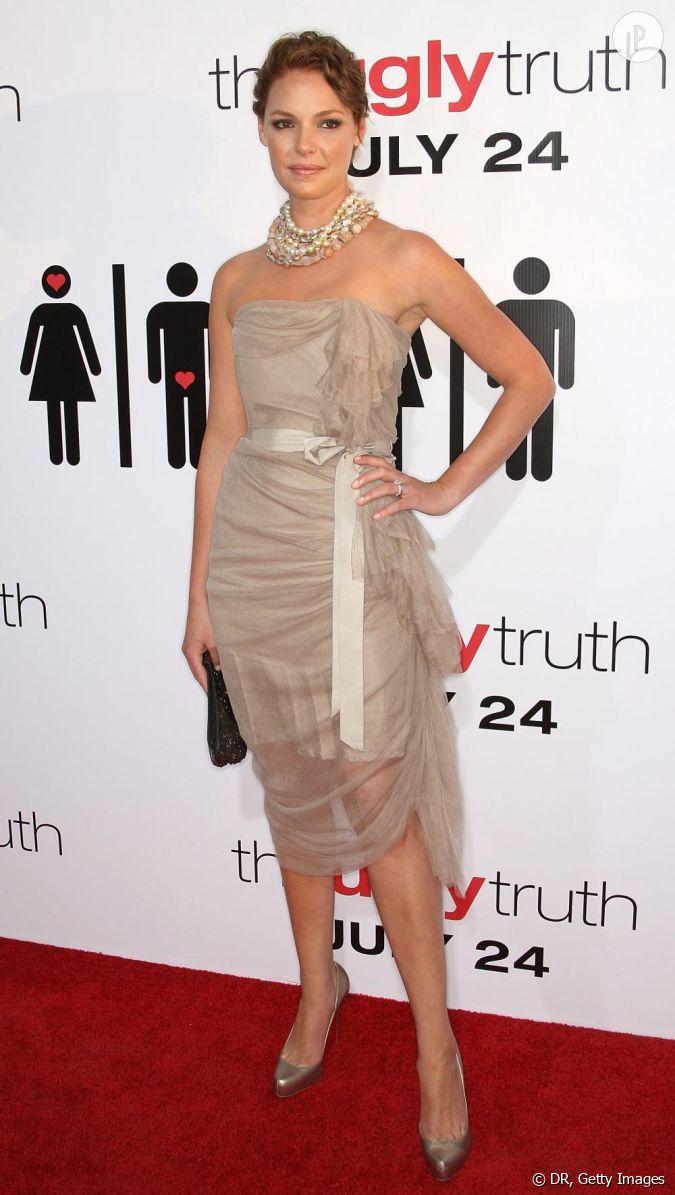 Pour la première de The Ugly Truth à Hollywood, l'actrice ...