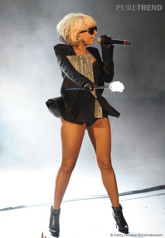 """Lady Gaga, la reine incontestée de tout ce qui est """"mini"""", voire """"micro"""""""